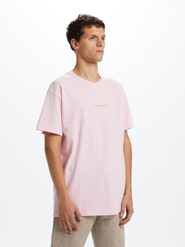 California Cool T-shirt Pink