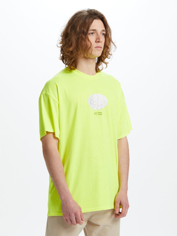 Origin T-shirt Yellow Fluo