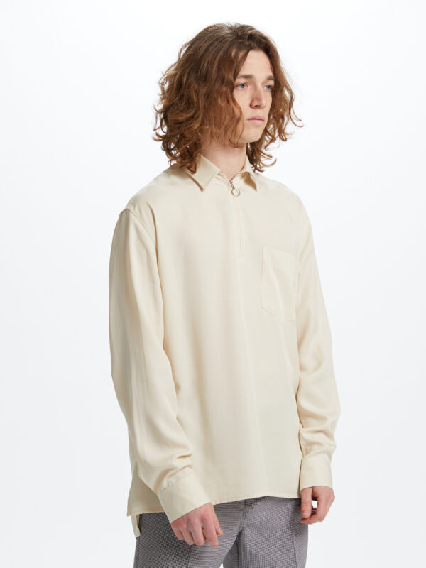 Heal Long Sleeve Shirt Ivory