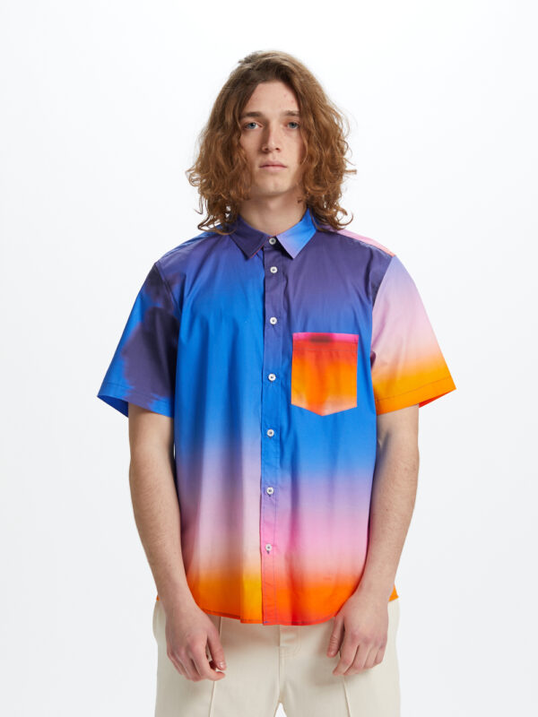Sunset Shirt Short Sleeve