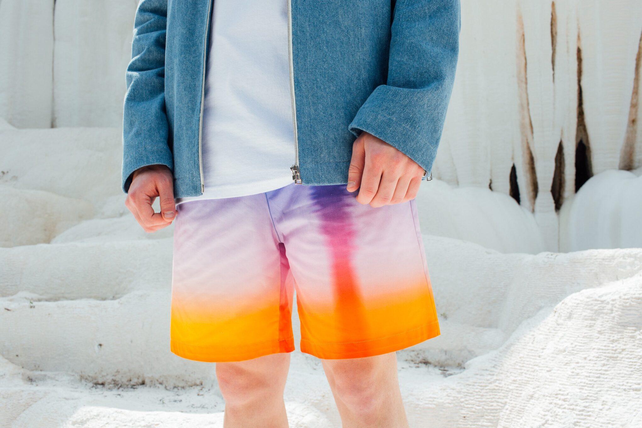Coffin Short Pant Sunset