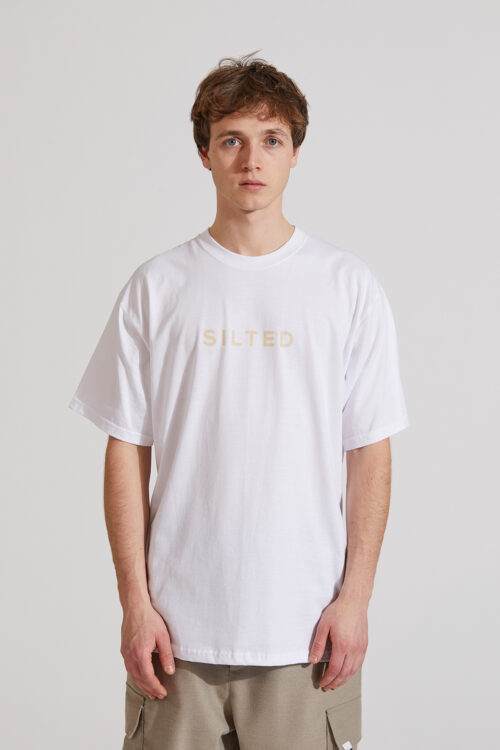 Silted T-shirt White