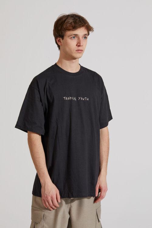 Tropical T-shirt Black
