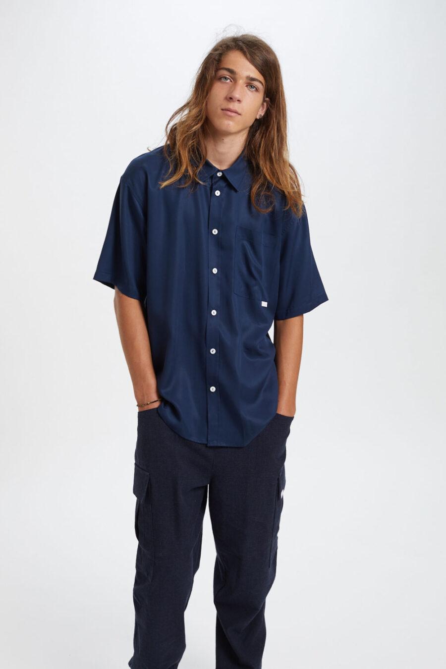 Amado Shirt Navy